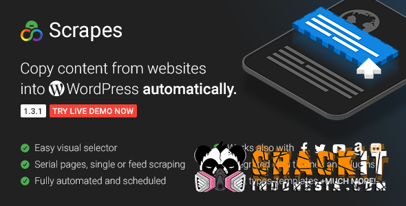 Scrapes v1 3 1 NULLED - ALL SHOPP