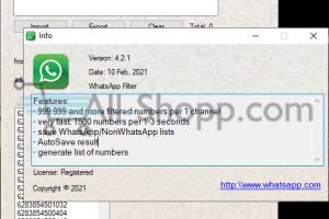 WhatsApp Contact Filter v4.5